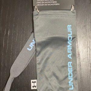 Under Armour microfiber bag and neoprene retainer